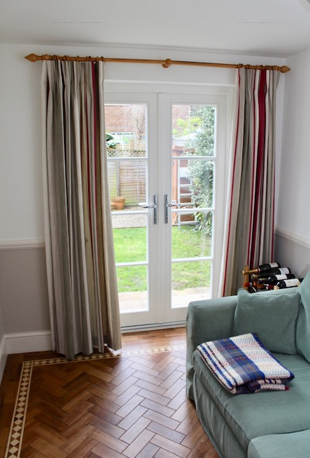 Hardwood double French doors in Kew London