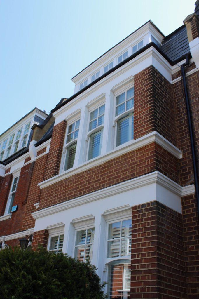 Accoya sash windows in West Hampstead