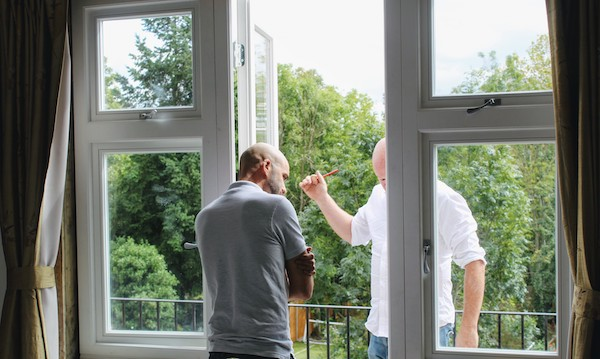 casement windows quality inspection