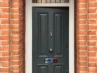 Timber Front Door Clapham South London