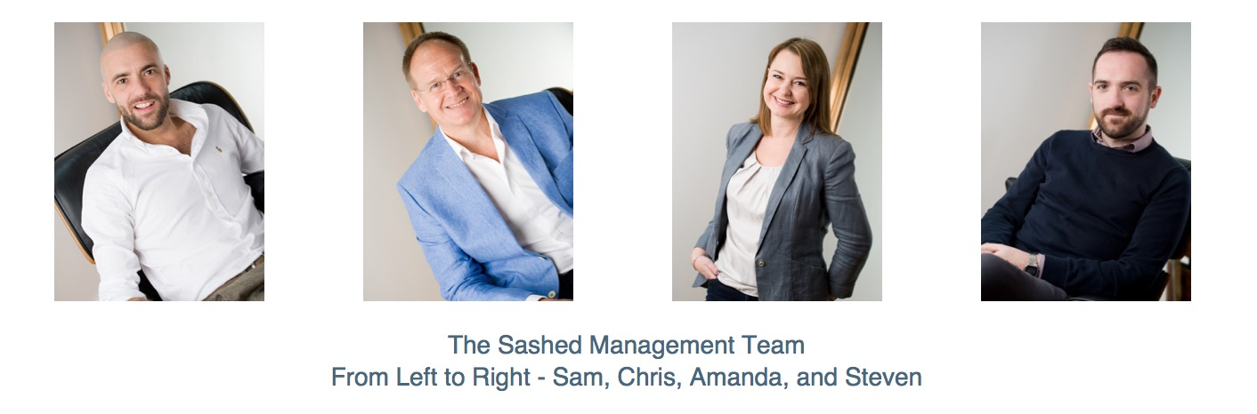 Sashed senior management team