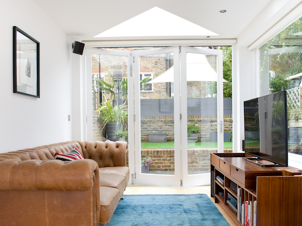 Meranti hardwood Bi-folding door's