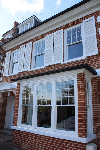 Sash windows in South London