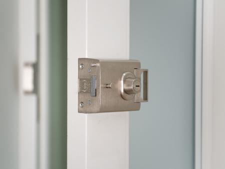 Banham® night-latch on a Front door & Ironmongery - Handles and Fasteners - Windows \u0026 Doors | Sashed