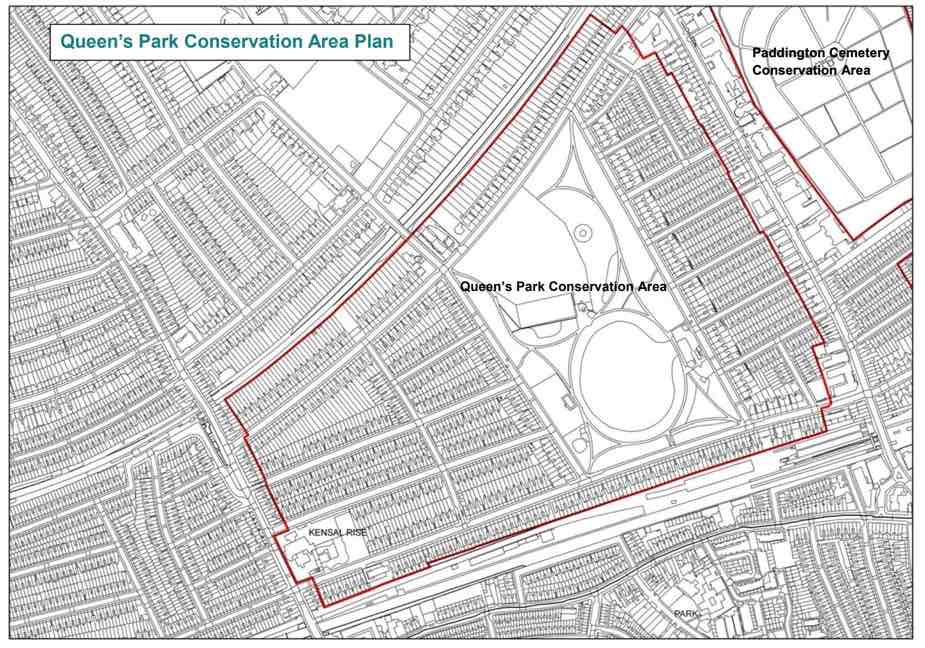 Queen's Park Conservation Area Plan