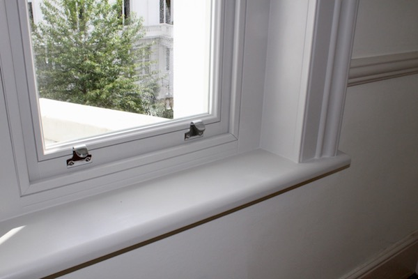 Sash windows with matching architrave and sills